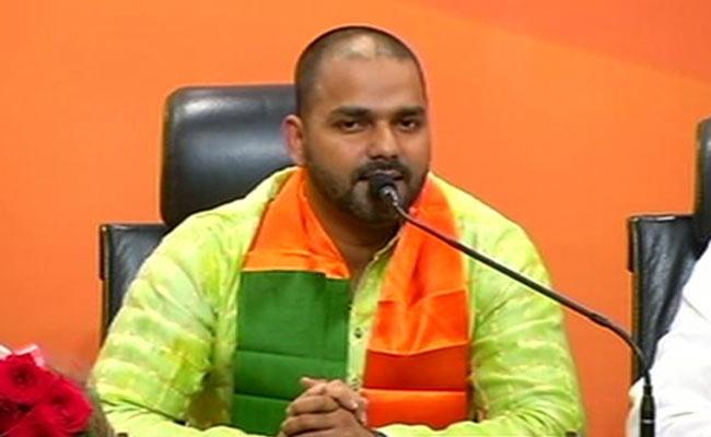 Pawan Singh, second Bhojpuri star from Shahabad to join BJP   The Bihar News