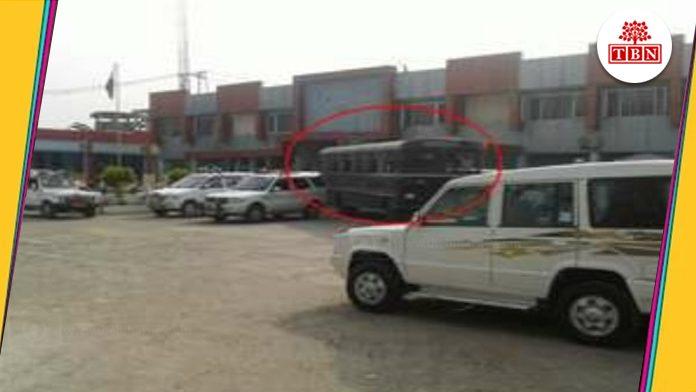 attack on prisoners van by Bomb in Beur jail-The-Bihar-News