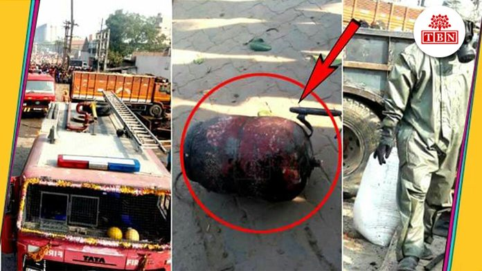 serial blast after HP gas warehouse catches fire in didarganj-The-Bihar-News