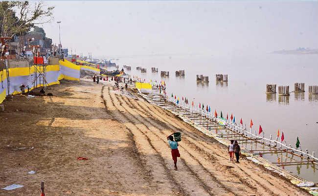 Ganga Ghaats are ready for chhath puja in patna | The Bihar News